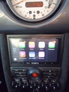 Alpine CarPlay in MINI
